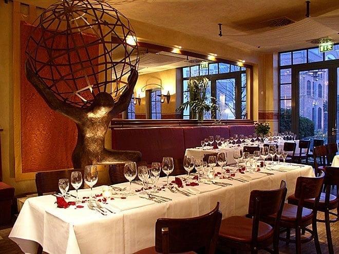 Unterwegs in Altona: Restaurant Atlas