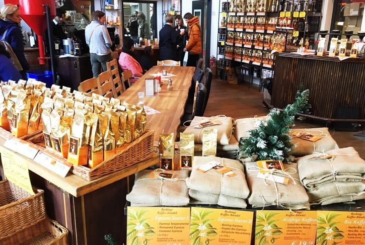 Becking Kaffee, Shopping-Perlen