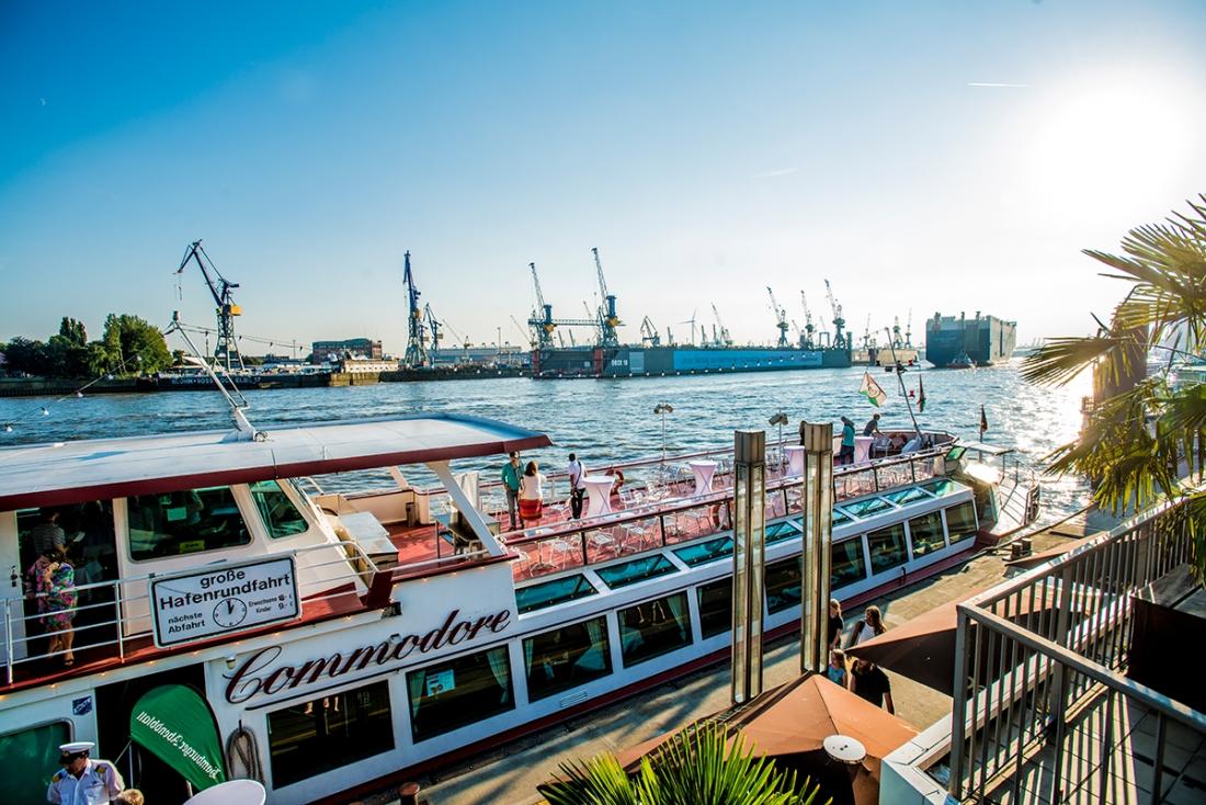 Hafenrundfahrt, Commodore, Elbe