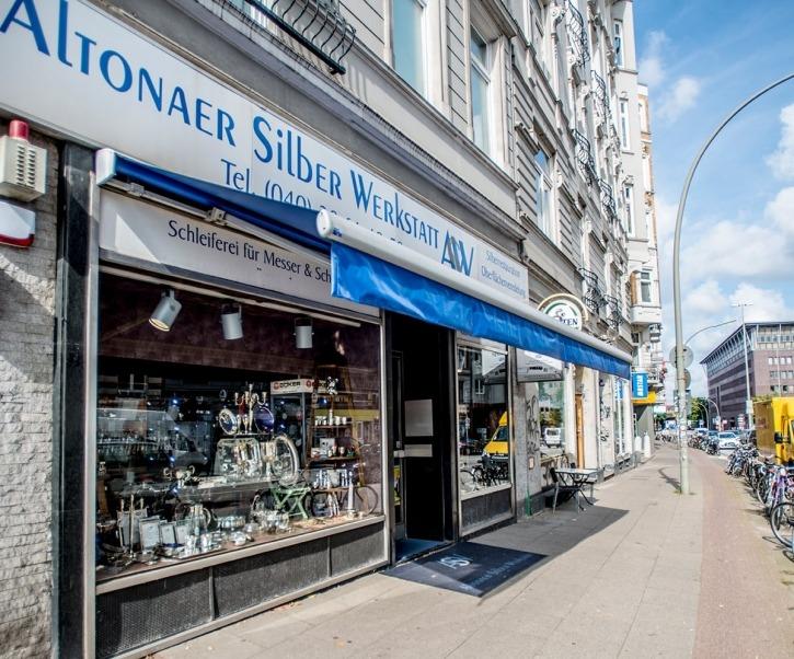 Altonaer Silber Werkstatt, Altona, Einkaufen, Restauration