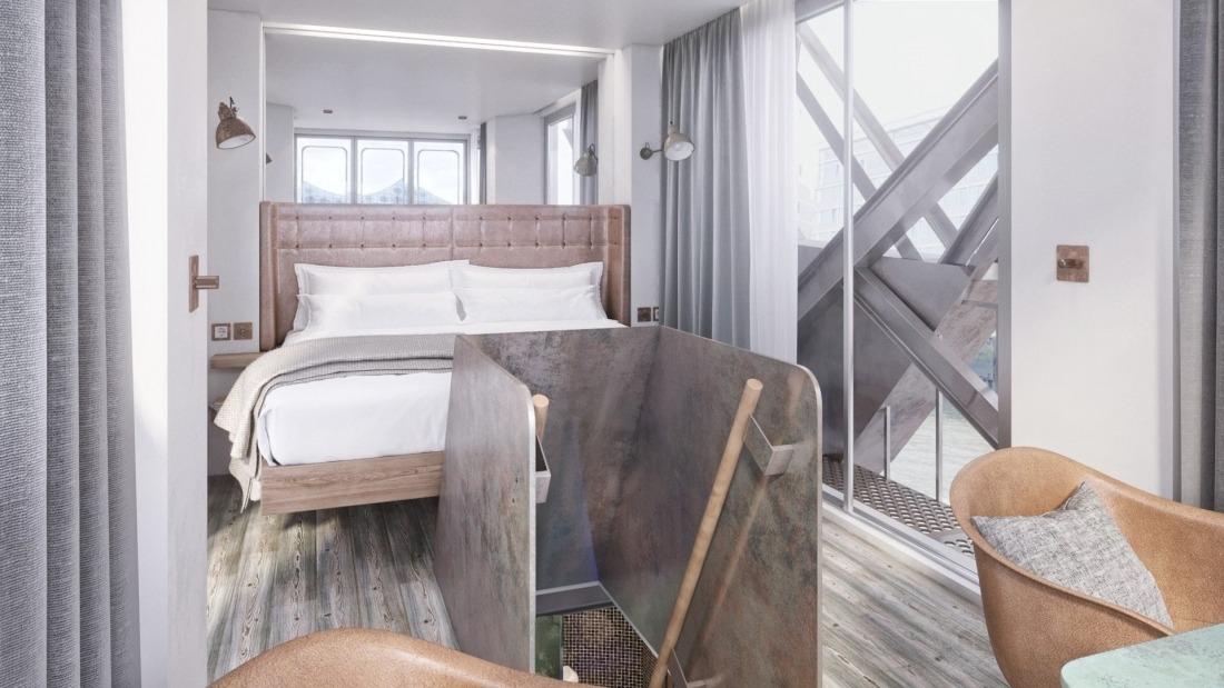 Harrys Hafenbasar: Hotelzimmer des Hafenkrans