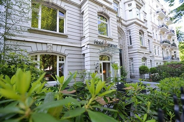 Hotel Miramar: Hotel in Jugendstilvilla