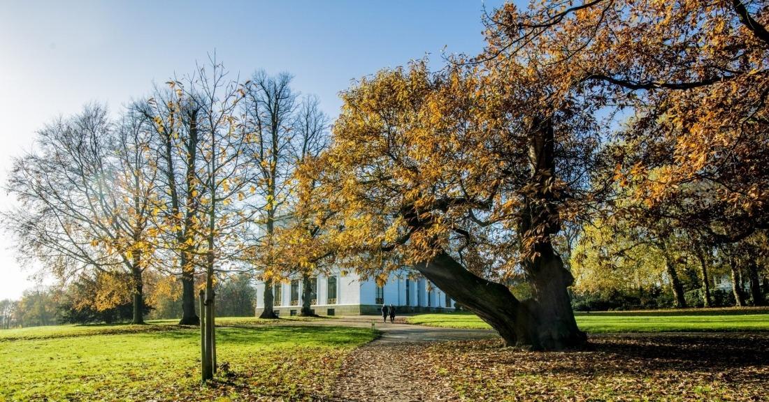 Unterwegs in Blankenese: der Jenischpark