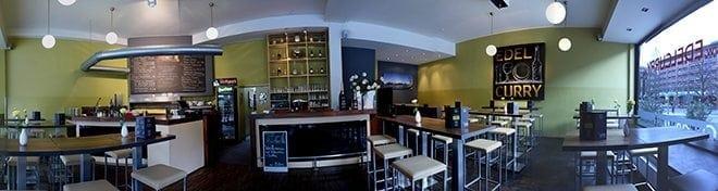 Edelcurry: Blick ins Restaurant