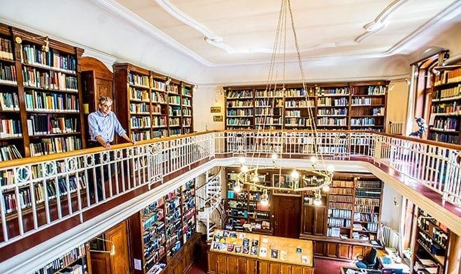 Ausgezeichnet: Bibliothek der Sternwarte