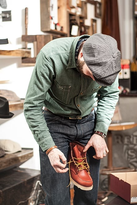 Red Wing Shoes Made in USA seit 1905 Hamburg Guide