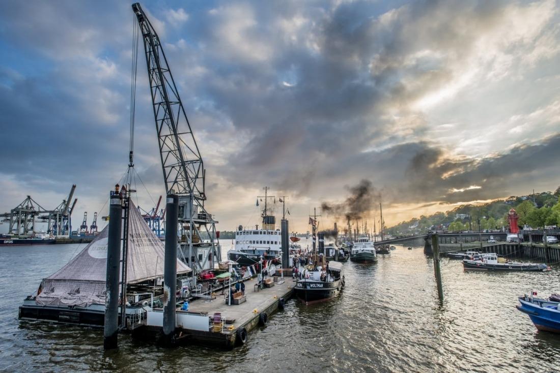 Unterwegs in Altona: Museumshafen Oevelgönne