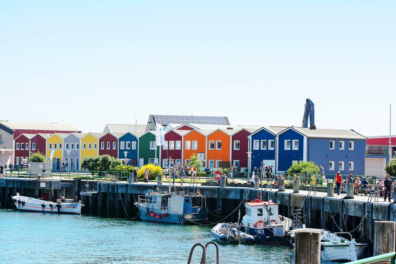 Helgoland, Hummerbuden, Halunder Jet, Nordsee, Urlaub