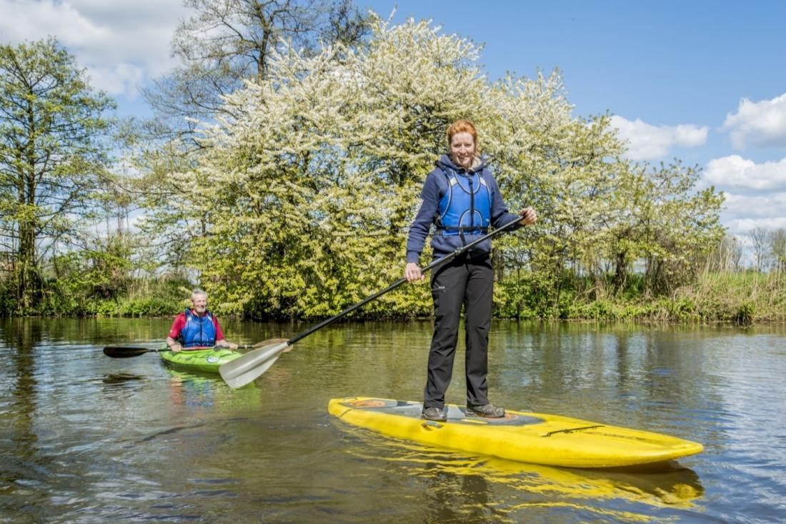 Grün & Blau: Wassersport an der Gose Elbe