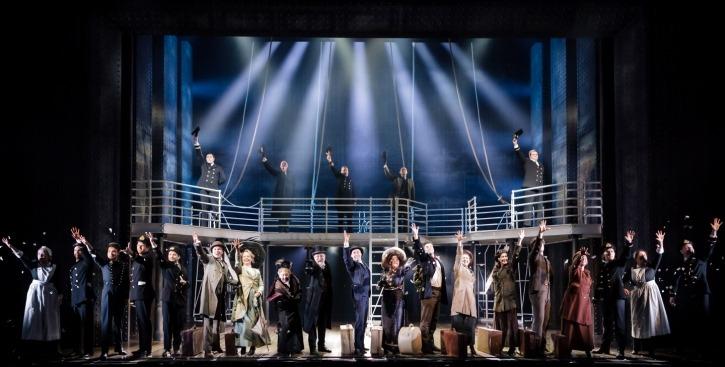 Bühnenbild Titanic The Musical