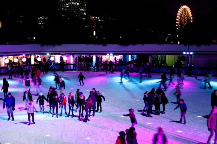 Hamburg für Familien, Eislauf, Freizeitspaß