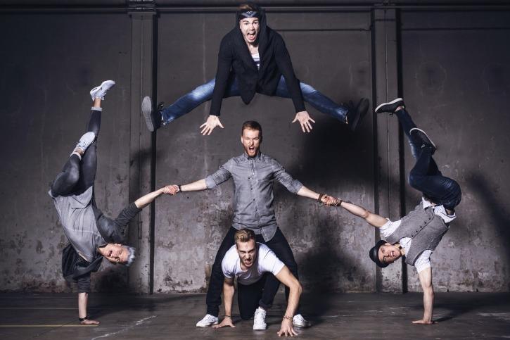 Feuerwerk der Turnkunst: Die Breakdancer von DDC werden in Hamburg dabei sein.