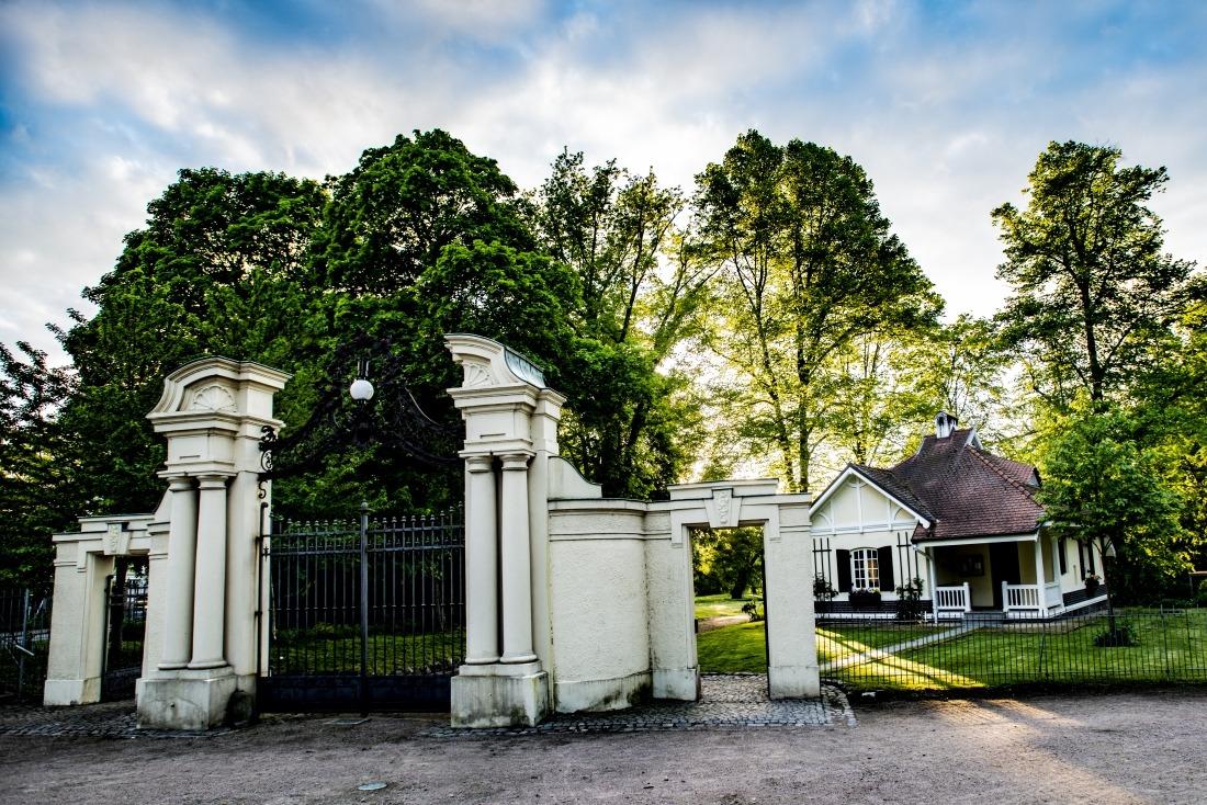 Fünf Tipps: Eingang Jenischpark