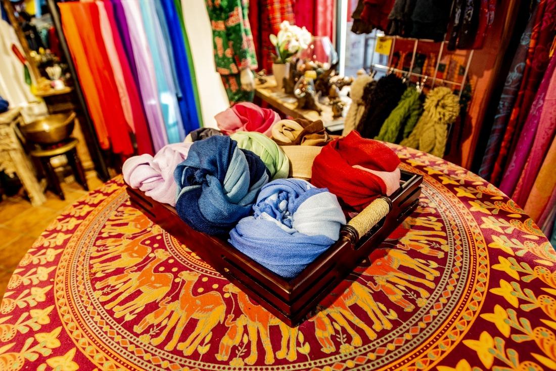 Wärmstens zu empfehlen: Kaschmir-Schals