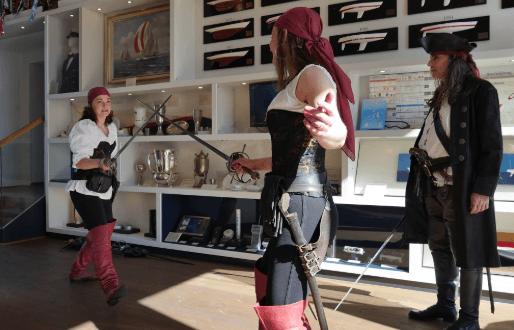 Veranstaltungstipps: Piratensonntag im Museum
