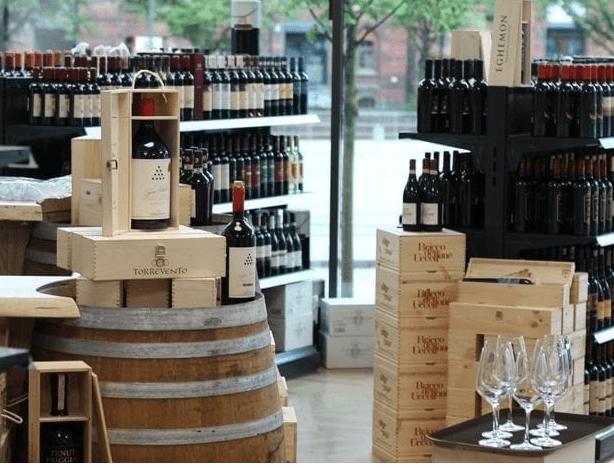 Andronaco: Weinauswahl