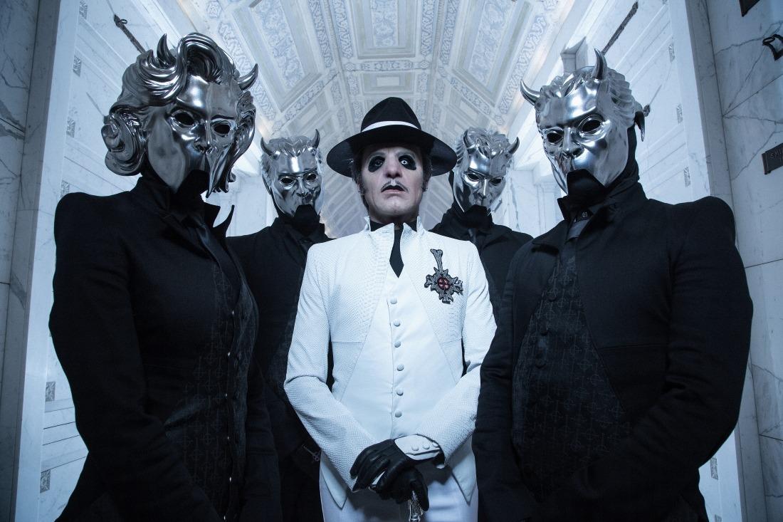 Veranstaltungstipps: die schwedische Band Ghost