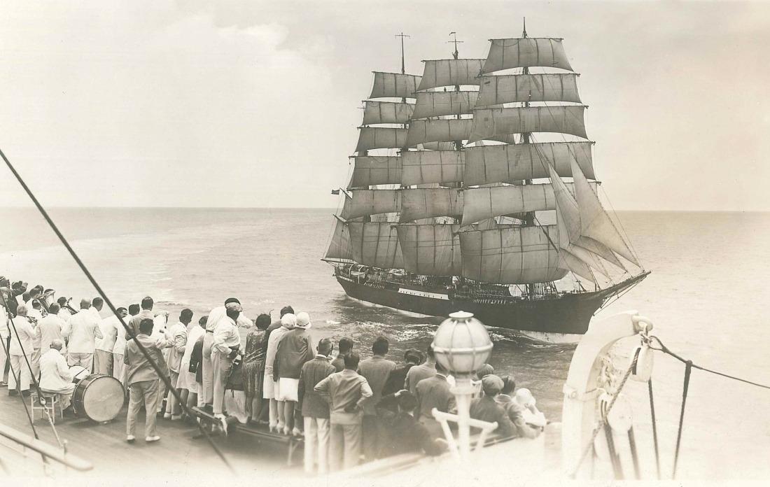 Die Peking: Das Schiff in den 1920er Jahren