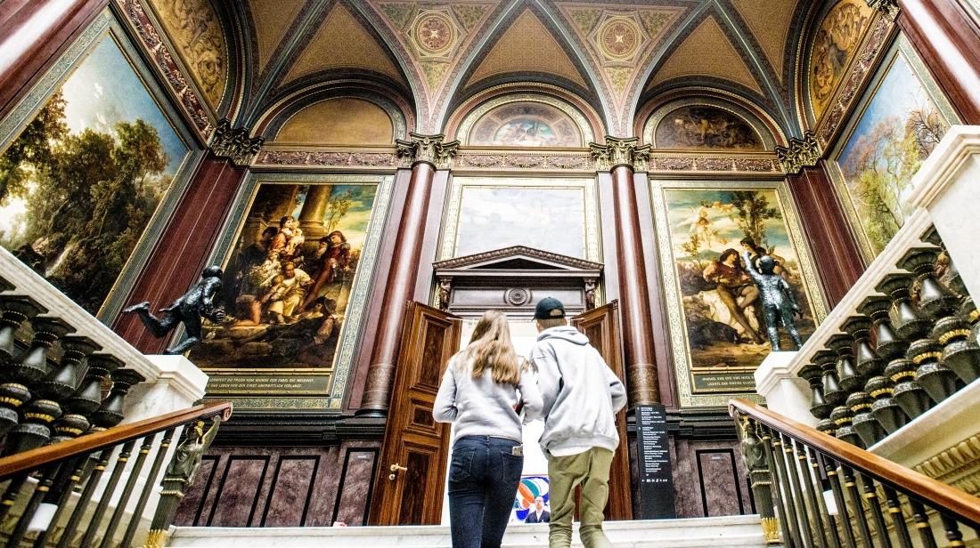 Hamburger Kunsthalle: Blick ins Innere des Museums