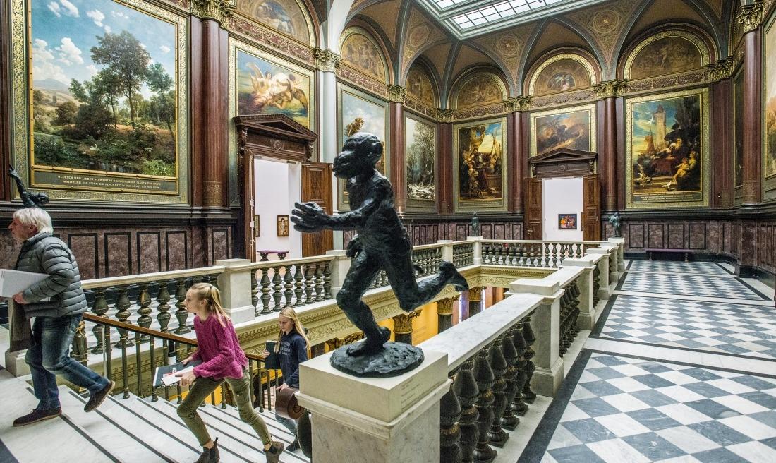 Kinder in der Kunsthalle