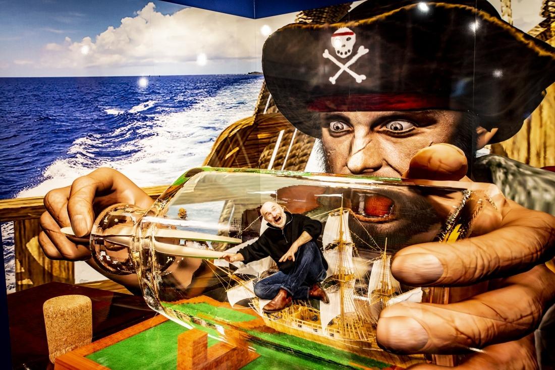 Mindways 3 D Trickart: Buddelschiff