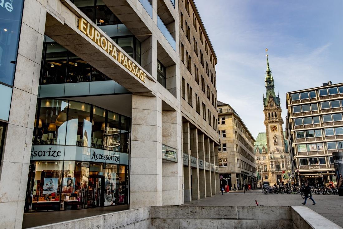 Shopping-Vergnügen: Europa Passage