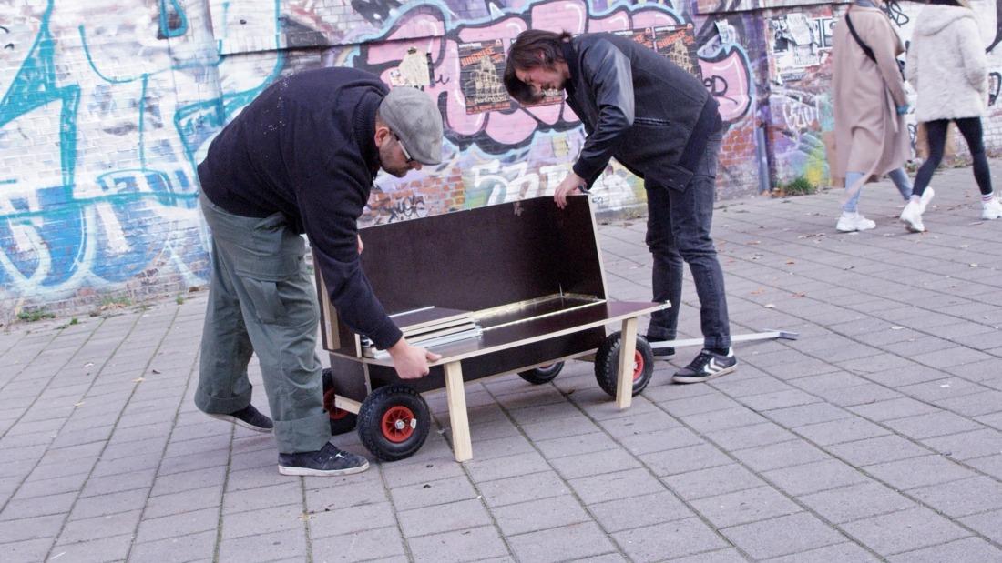 Die Kunst der richtigen Idee: mobile Schlafwagen