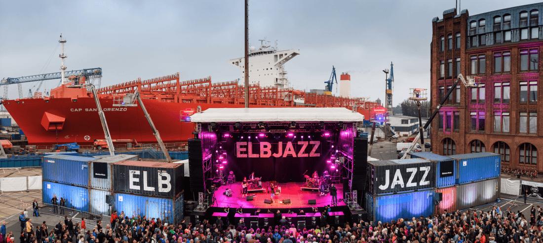 Elbjazz: Hauptbühne am Hafen