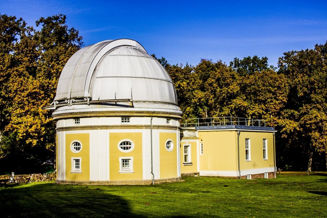 Unterwegs in Hamburg: Sternwarte