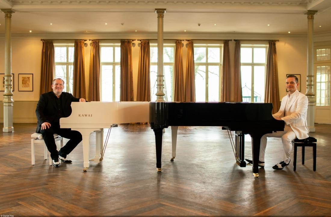 Endlich Wochenende: die Pianisten Daniel & Götz