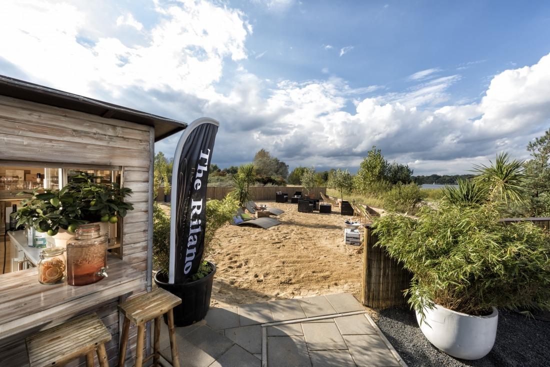 Sommer in der Stadt: Beach Bar im Rilano