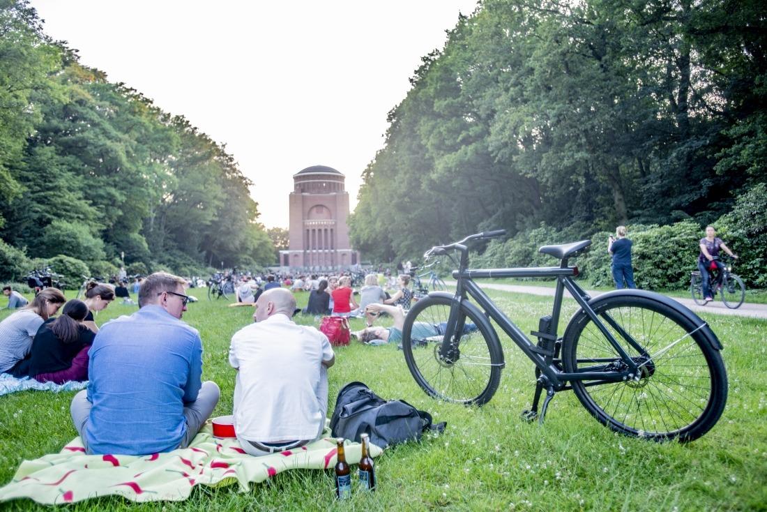 Parks in Hamburg: Stadtpark mit Blick aufs Planetarium