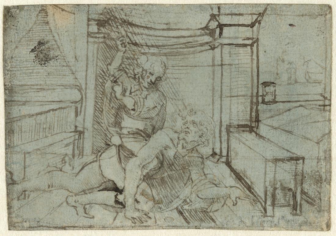 Kostbarkeiten in der Kunsthalle: Zeichnung von Leonardo da Vinci