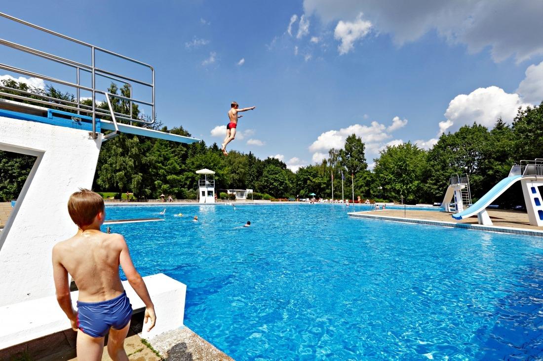 Schwimmbäder in Hamburg: das