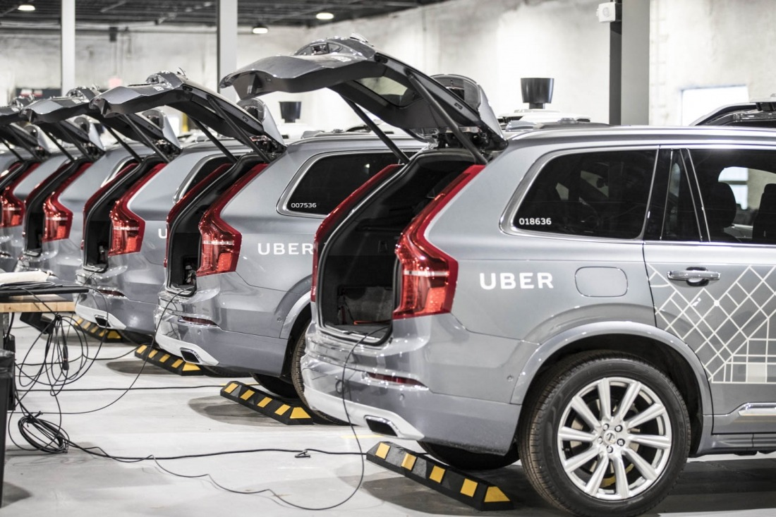 Uber: Flotte von E-Autos
