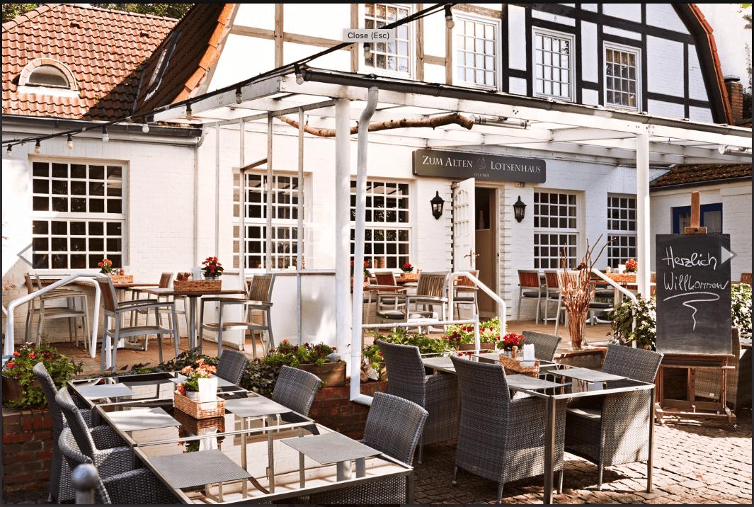 Zum Alten Lotsenhaus: das Restaurant von außen