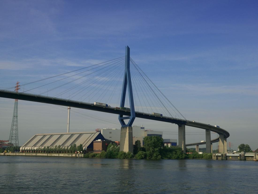 10 Dinge: die Köhlbrandbrücke