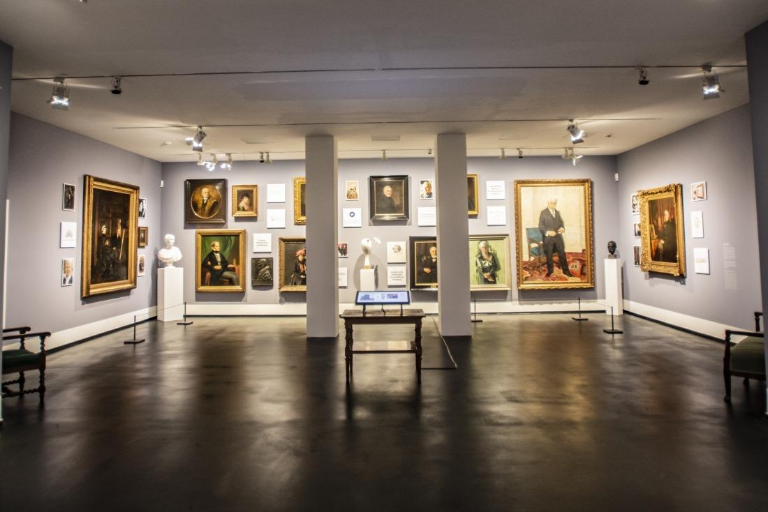 Kunsthalle: Blick in einen Ausstellungsraum