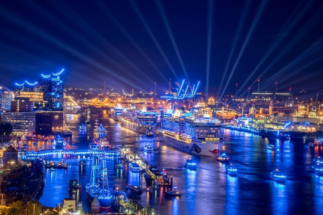 Cruise Days: Hafenpanorama