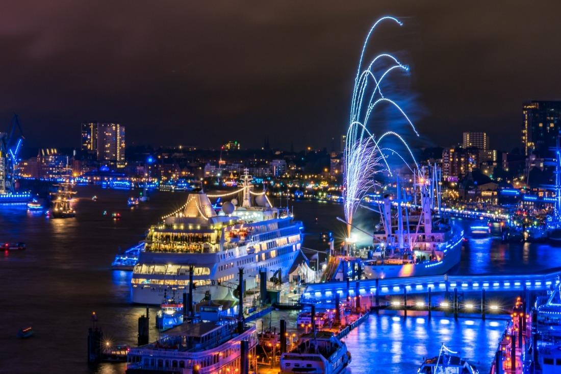 Cruise Days: Feuerwerk