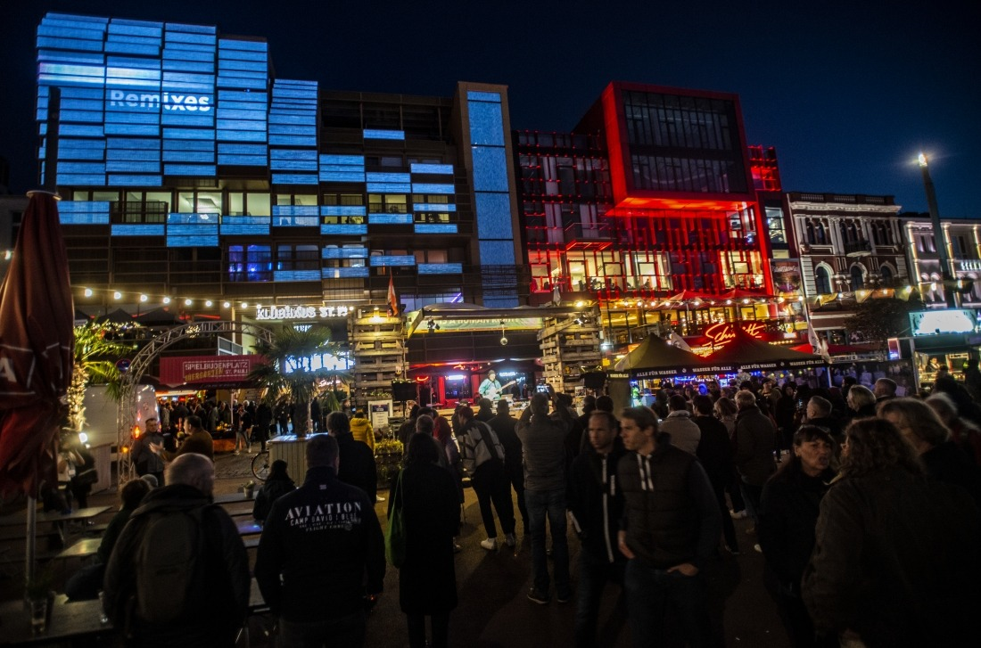 Endlich wieder Reeperbahn-Festival: Auch auf dem Spielbudenplatz
