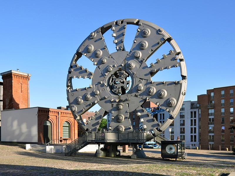 Museum der Arbeit: Schneidrad Trude
