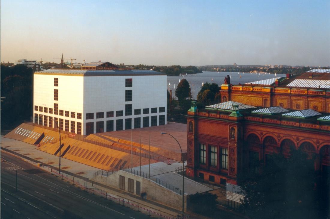 Die Kunsthalle mit Galerie der Gegenwart