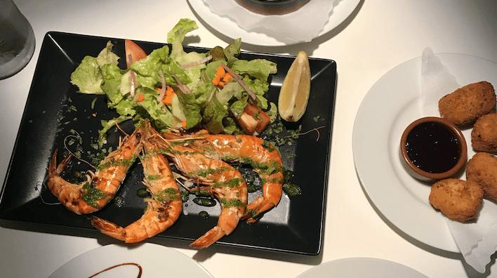 Restaurant-Tipp: gegrillte Garnelen