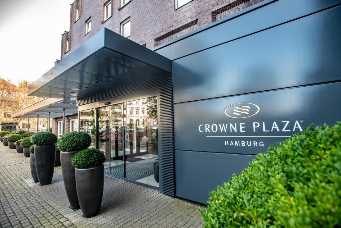 Crowne Plaza: Eingang