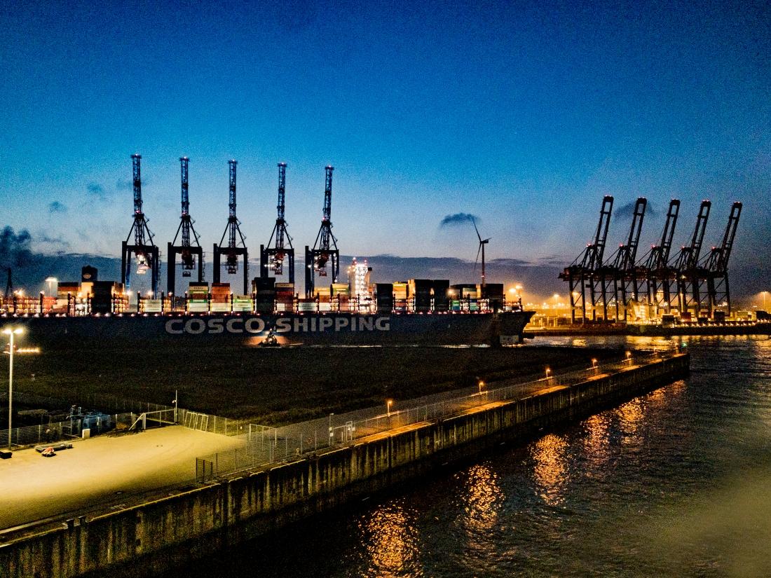 Industrieromantik am Containerhafen