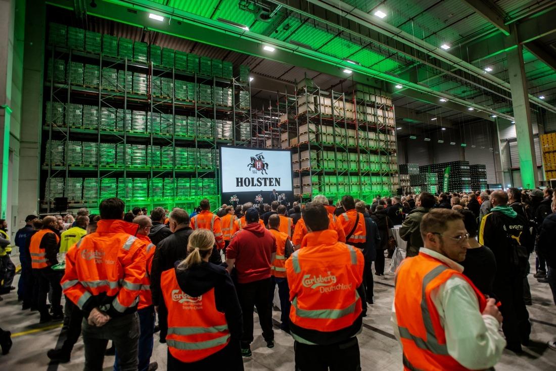 Noch ein Bier: Lagerhalle der Holsten Brauerei