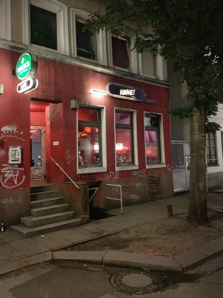 St. Pauli: Eingang zur Komet Bar