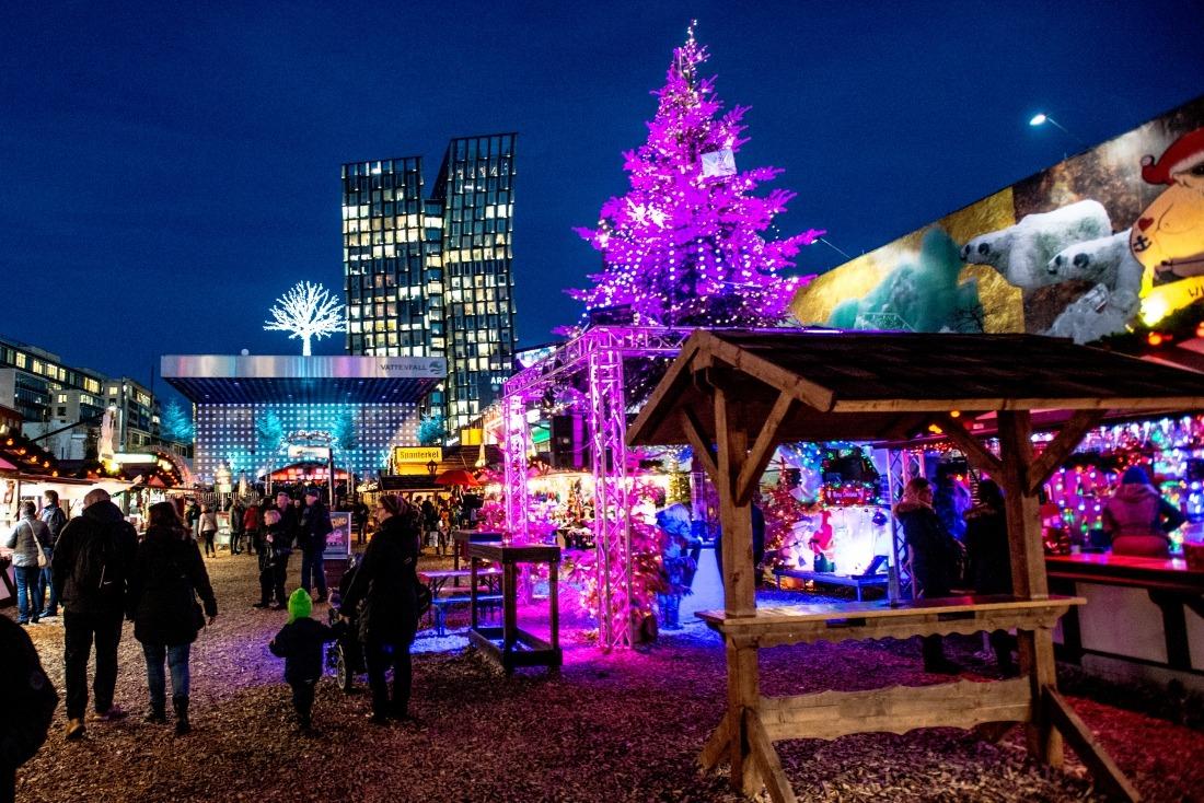 Hamburg im Weihnachtsglanz: Santa Pauli