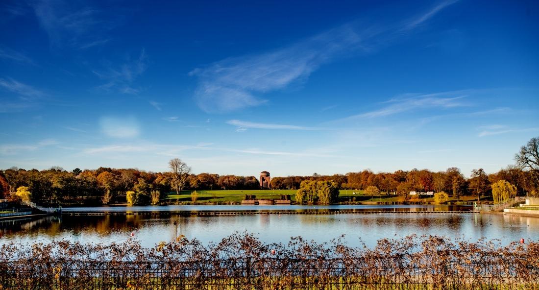 Oktober am Stadtparksee